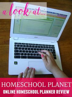 Want to try an online homeschool planner? Homeschool Planet is a comprehensive planner that will help you keep track of everything for your homeschool & family.