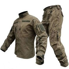 UNIFORM Tactical Suit ANTITERROR Olive Coyote Tactic Military Form camo Armed Forces Before ordering please send us an e-amil with your Height (tall) and Chest (Thorax). Military Gear, Military Jacket, Military Clothing, Tactical Suit, Combat Gear, Tac Gear, Tactical Clothing, Outdoor Outfit, Mens Clothing Styles
