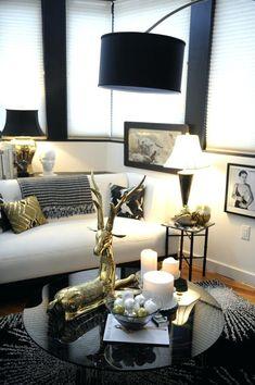modernes wohnzimmer braunes sofa schiebetür essbereich | Haus ...