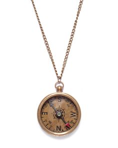 compass necklace <3