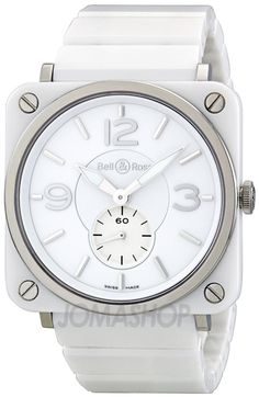 Bell and Ross Aviation 39 MM White Unisex Watch. List price: $3700  ... B&R 제품치곤 저렴하지만, 여전히 가격이 ㅎㄷㄷ
