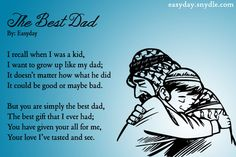 Happy Fathers Day Poems from Son / Daughter & Girlfriend / Wife perfect fathers day gift, first fathers day gift ideas from daughter, mother diy gifts day memes Happy Fathers Day Status, Funny Fathers Day Memes, Happy Fathers Day Message, Best Fathers Day Quotes, Father's Day Memes, Happy Fathers Day Images, Fathers Day Messages, Fathers Day Wishes, First Fathers Day Gifts