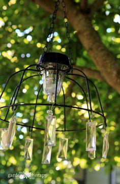 Fairy Garden Solar Light Chandelier