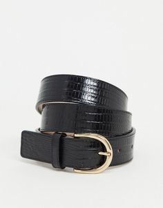 Shop & Other Stories leather snake effect belt in black. With a variety of delivery, payment and return options available, shopping with ASOS is easy and secure. Shop with ASOS today. Leather Jeans, Leather Buckle, Buckle Jeans, Belt Buckles, Burton Menswear, Snake Design, Reversible Belt, Braided Belt, Western Belts