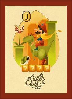 Super Mario World #nintendo #mario #art