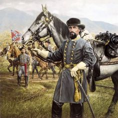 king philip image forest horse | General Nathan Bedford Forrest & King Philip by Michael Gnatek