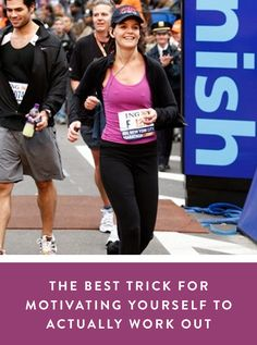 The Best Trick for Motivating Yourself to Actually Work Out via @PureWow