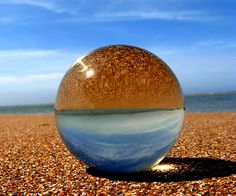 the Channel through the crystal ball | Flickr - Photo Sharing!