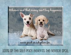 """Rescue Dog Magnet - 2.5"""" x 3.5"""" -  100% of Sale Price to Benefit the NSPCA"""