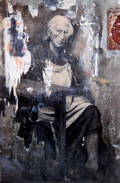 Ernest-Pignon-Ernest.Naples-