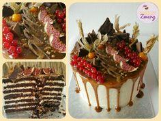 Drip cake chocolate caramell  karamell schokolade death by chocolate Tiramisu, Cake, Ethnic Recipes, Desserts, Food, Caramel, Chocolate, Tailgate Desserts, Deserts