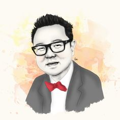 One of my inspiration // Kevin Mintaraga// Made by : clarissa refira//2015