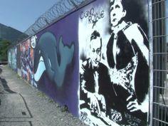 Frankfurt Graffiti Artists Express Views on Capitalism