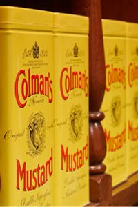 Colman's Mustard Shop & Museum - Visit us in The Royal Arcade, Norwich, or visit www.mustardshopnorwich.co.uk