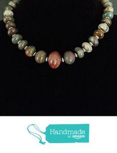 Big, Bold, Beautiful Red Creek Jasper Choker from Red Creek Spirit Jewelry http://www.amazon.com/dp/B015QO0DBU/ref=hnd_sw_r_pi_dp_ltBgwb0X6JEP8 #handmadeatamazon