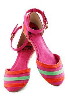 pink sandals ❤