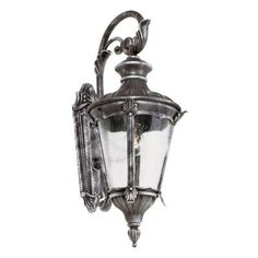 Bel Air Lighting Swedish Iron Outdoor Wall Lantern-40160 SWI - The Home Depot $48