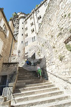 Image of france - 38659803 Rocamadour France, Images Of France, Vectors, Street View, Sign, Stock Photos, Architecture, Travel, Free