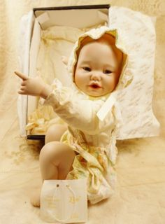 Vintage Baby Lisa Doll Edwin Knowles Doll Yolanda Bello 1991 New NIB | VintageTreasuresFound - Dolls & Miniatures on Art