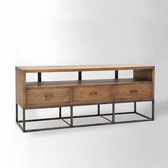 #3 - Media Center / Media Console (could work as #4 too depending on size) Copenhagen Media Console #westelm