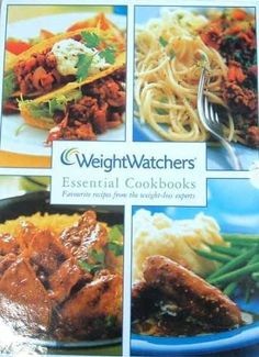 WeightWatchers Essential Cookbooks