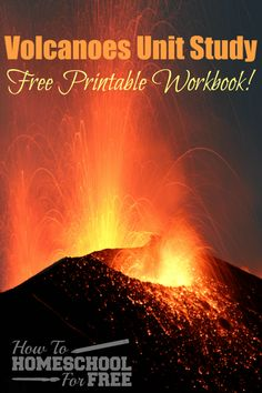 volcano project and resources includes free printables and tips rh pinterest com Volcanology Degree Submarine Volcano