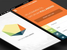 Kullaberg mobile application by Andreas Ubbe Dall (Copenhagen, Denmark)