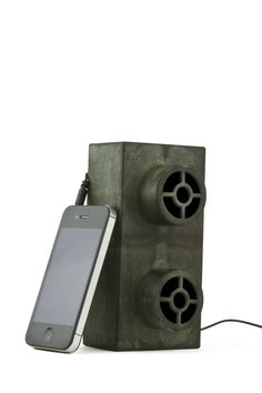Earth Block Speakers Green