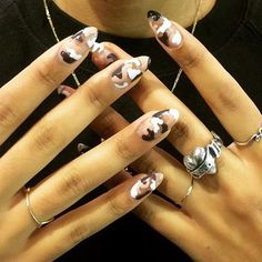 Camouflage Nails by bangbangnails