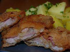 Chasníkovy řízečky Vepřové maso naklepeme, osolíme…