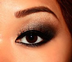 asian eye makeup | Brown Eye Makeup