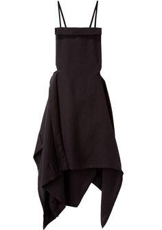 YOHJI YAMAMOTO | Twill Apron Dress | Shop at La Garçonne