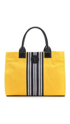Tory Burch Center Stripe Ella Tote... Beach Tote!!