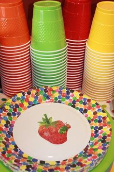 Hostess with the Mostess® - Jaxon's Very Hungry Caterpillar 1st birthday party