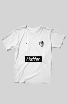 Huffer All Wrong Tee in White Premium Streetwear Online NZ | Men's Clothing & Accessories | Needles and Threads Store