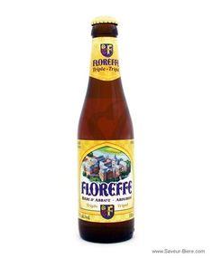 Cerveja Floreffe Triple, estilo Belgian Tripel, produzida por Lefebvre, Bélgica. 7.5% ABV de álcool.