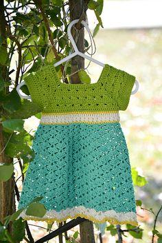 Ravelry: Little Miss Allison's Dress pattern by Theresa Knapp