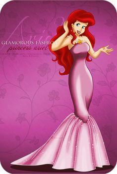 Extra Color - Glamorous Fashion Ariel by *selinmarsou on deviantART