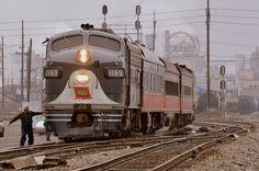 Wabash Santa train