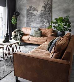 Szara ściana z ciekawą fakturą w salonie - Lovingit. Home Living Room, Living Room Designs, Living Room Furniture, Home Furniture, Living Room Decor, Living Spaces, Living Room Inspiration, Home Decor Inspiration, Best Decor