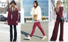 É hora de se apaixonar por bordô! Uma cor clássica e cheia de estilo que promete invadir o guarda roupa deste inverno! Entre veludos e tecidos mais pesados o bordô é um ponto fortíssimo na nossa nova coleção!