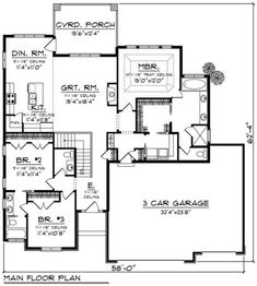 168 Best House plans 1800-2200 sq ft images in 2020 ...