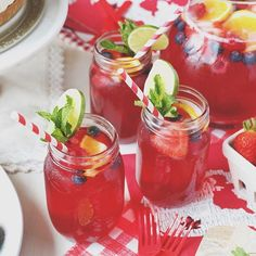 This #sangria is my go-to drink on a hot summer day! 🍹 What I love most about sangria is that it's completely customizable. It can be red, it can be white, it can be sweet, or even really boozy, the choice is yours! But no matter how you make it, it's a refreshing addition to any #CanadaDay party! 🇨🇦 Get the recipe on my blog! {Link in Profile} #Cheers #Cocktails #Drinks #Party #RedWineSangria #Wine