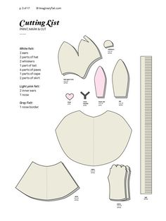 Bunny PATTERN DIY costume mask sewing tutorial creative play woodland animals ideas for kids baby children easter holiday Halloween gift - Gesichtsmaske 2020 Ideen Baby Gifts For Dad, Easter Gifts For Kids, Kids Gifts, Diy Christmas Costumes, Halloween Gifts, Halloween 2018, Halloween Costumes, Sewing Tutorials, Sewing Projects