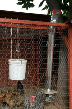 10 Excellent Plans and ideas for making DIY homemade chicken feeder and waterer using pvc,bucket and other material.