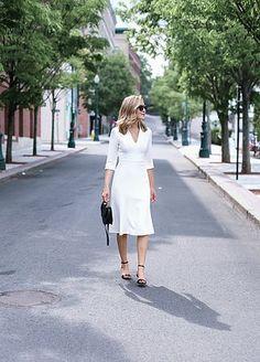 Classic Ivory Dress