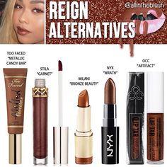 Kylie Jenner lip kit dupe Reign