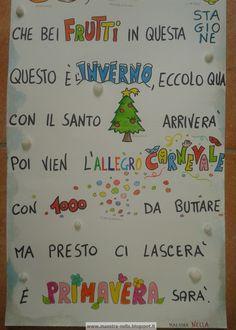 maestra Nella: Inverno - poesia illustrata