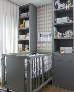 modern gray white beige nursery for a boy Baby Bedroom, Baby Boy Rooms, Kids Bedroom, Beige Nursery, Pastel Room, Baby Room Colors, Baby Room Design, Love Your Home, Baby Decor