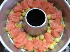 Zucchini salmon casserole in Omnia- Zucchini-Lachs-Auflauf im Omnia One of my favorite recipes for a casserole with … - Broth Fondue Recipes, Sauce Recipes, Meat Recipes, Salmon Casserole, Casserole Dishes, Krups Prep&cook, Zucchini, Benefits Of Potatoes, My Favorite Food